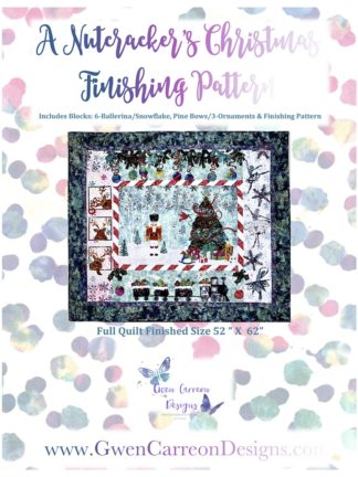 A Nutcracker's Christmas - Finishing Pattern